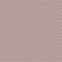 Tela panal marrón topo