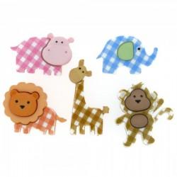 Botones baby safari