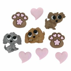 Botones Puppy love