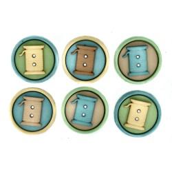 Botones Sew Fun Style 9