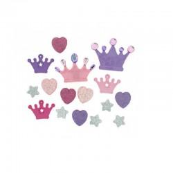 Botones Glam Princess