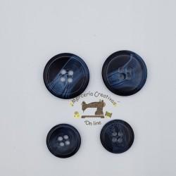 Botón azul Gutermann