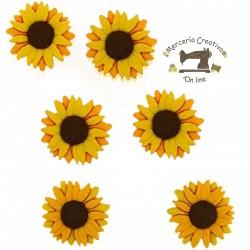 Botones Sunflowers