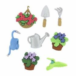 Botones Gardening