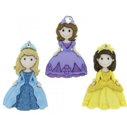 Botones Pretty princess