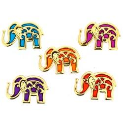 Botones bollywood elephants