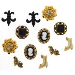 Botones Victorian Miniatures