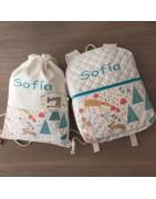 Mochilas y bolsitas infantiles personalizadas